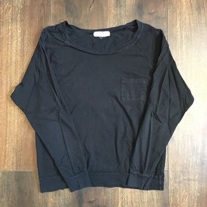 Forever 21 black long sleeve with front pocket
